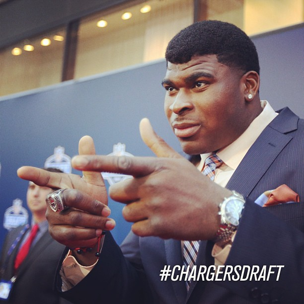 Chargers Select Alabama OT D.J. Fluker with 11th Pick – Highlight