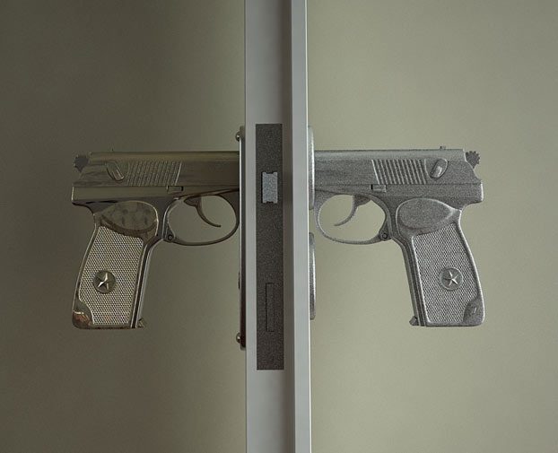 GmaNsWorlD.com - Gun Door Handle 1