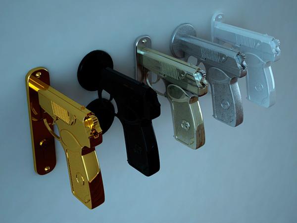 GmaNsWorlD.com - Gun Door Handle 2