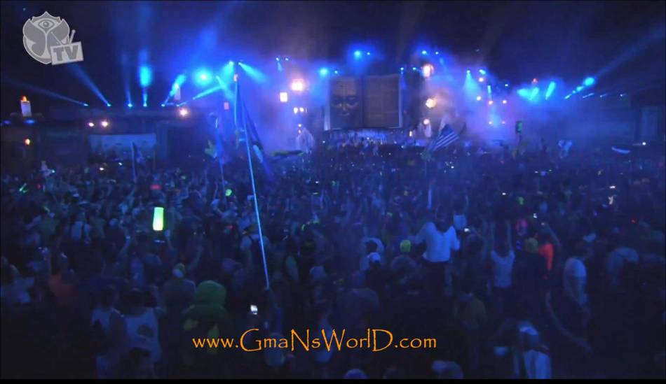 Live at TomorrowWorld 2013 - Crowd Bouncin -TomorrowWorld -2 @GmaNsWorld.com