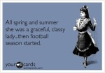 Classy Chick Football Fan until Season Starts @GmaNsWorlD.com