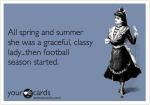 Classy Chick Football Fan until Season Starts @GmaNsWorlD.com
