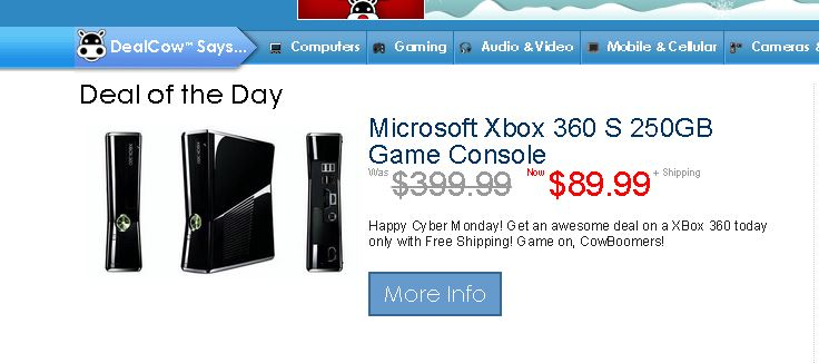 XBox 360 Deal - VelcroGloves.com
